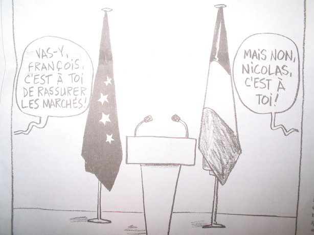 Karikatur le monde , samedi 20 septembre 2008