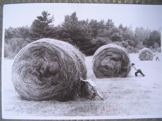 Anonym, Postkarte von Hut erhalten, am 30.7.2009