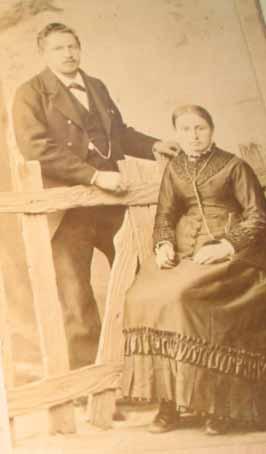 Simon Röthlisberger und Maria-Magdalena Röthlisberger Hänni, meine Urgrosseltern mütterlicherseits