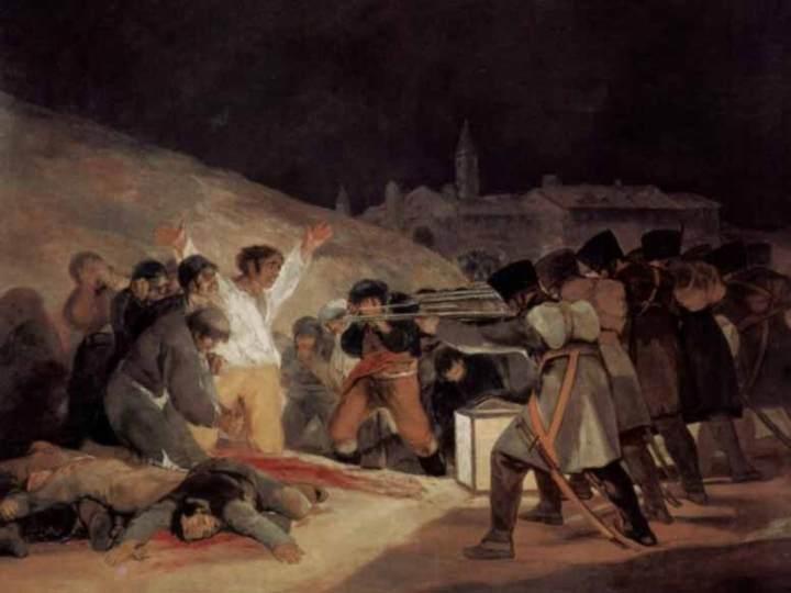 Die Erschiessung der Aufständischen am 3. Mai 1808