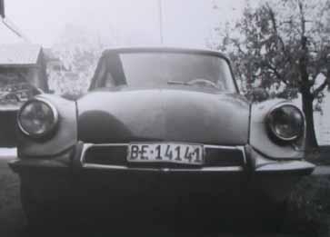Citroen ID, 1968, Zusammengesetzt aus zwei Carosserien...