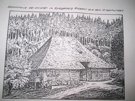 Stammhaus Christen in Spiegelberg, Grasswil
