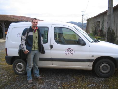 Mathieu Ruffat, Biokontrolleur, ecocert