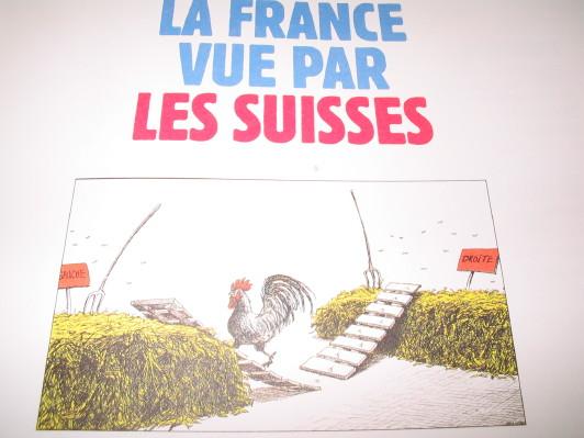 www.glenat.com, Patrick Chapatte, La France vu par les Suisses