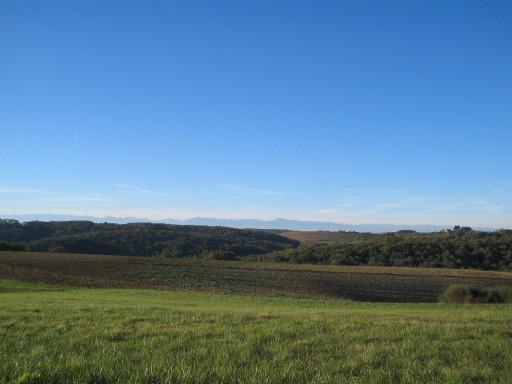 Landschaft von Traversères