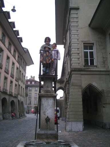 Lischettibrunnen beim Rathaus