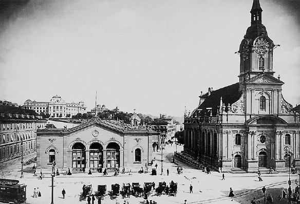 Bahnhof Bern, 1902