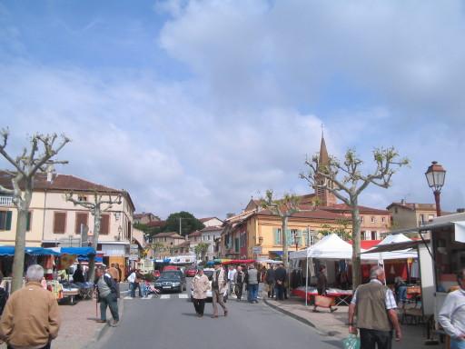 Markt in Samatan