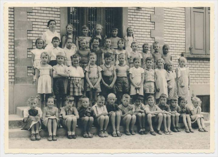 Schule Suberg 1957 (1)