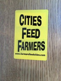 Cities feed farmers