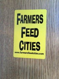 Farmers feed cities
