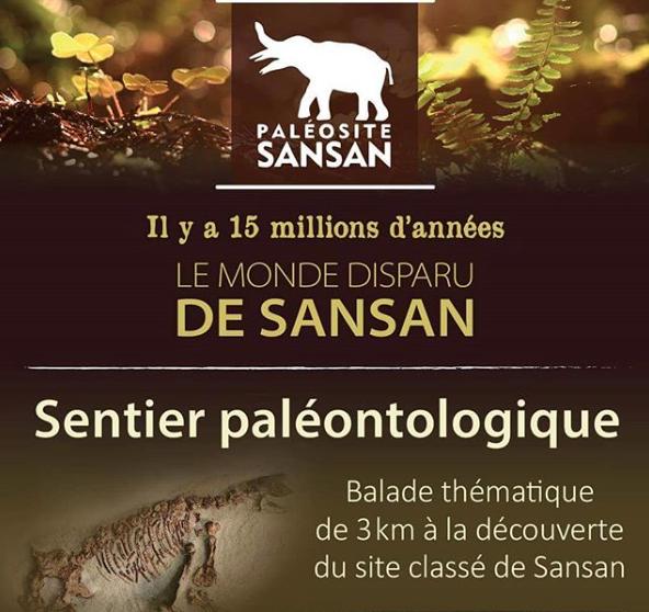 Sentier paléontologique