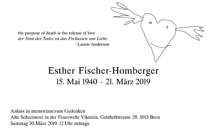Esther Fischer Homberger