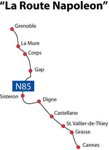 Route Napolèon